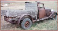 1934 Buick Series 90 Model 91 Four Door Sedan Big Eight Car/Pickup Conversion For Sale $5,500 right rear view