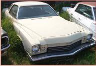 1973 Buick Century 2 door hardtop with 350 CID V-8 right front view for sale $2,000