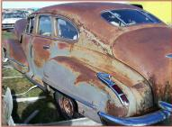 1947 Cadillac Series 61 4 Door Fastback Sedan left rear view