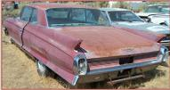 1962 Cadillac Series 62 2 Door Hardtop left rear view