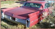 1963 Cadillac Coupe DeVille 2 Door Hardtop right rear view