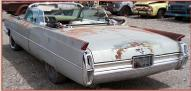 1964 Cadillac Series 62 DeVille convertible left rear view