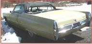 1967 Cadillac DeVille Convertible left rear view