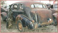 1936 Cadillac Fleetwood 4 Door Touring Sedan right rear view
