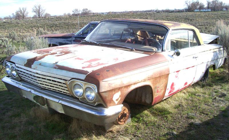 1962 Chevrolet Impala 2 Door Hardtop For Sale