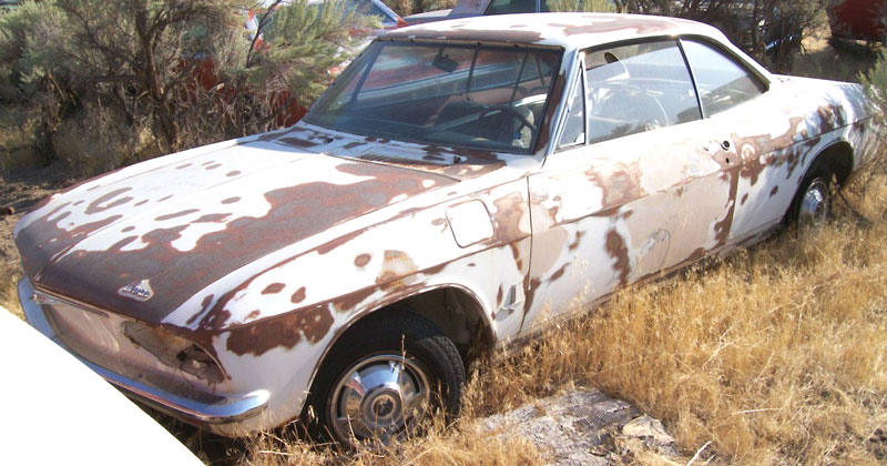 1966 Chevy Corvair Monza 110 2 Door Hardtop For Sale