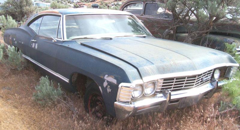 1967 Chevrolet Impala 2 Door Hardtop 327 Car For Sale