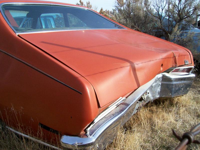 1972 Chevrolet Nova Custom 2 Door Post Coupe For Sale