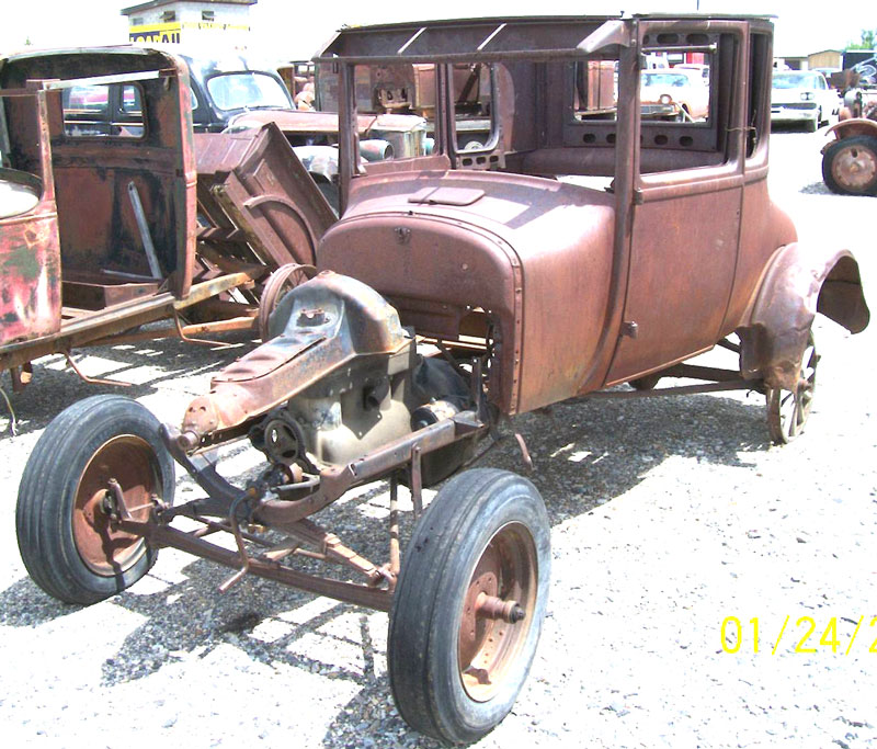 1926 Ford Model T Coupe Body and Chassis For Sale