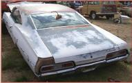 1967 Chevrolet Impala 2 Door Hardtop left rear view