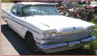 1959 Chrysler Saratoga 4 Door Sedan right front view