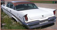 1959 Chrysler Saratoga 4 Door Sedan left rear view