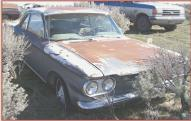 1960 Chevrolet Corvair Monza 900 2 door club coupe right front view
