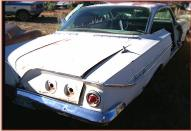 "1961 Chevrolet Impala ""Bubble Top"" 2 door hardtop right rear view"