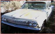 1962 Chevrolet Impala 4 door hardtop left front view