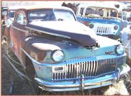 1948 DeSoto Deluxe 2 door club coupe right front view