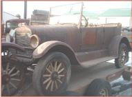 1926 Ford Model T 4 door touring car all original left front view