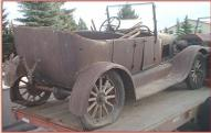 1926 Ford Model T 4 door touring car all original right rear view