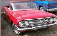 1960 Chevrolet El Camino V-8 4 Speed 1/2 Ton Car Pickup For Sale $11,000 right front view
