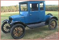 1923 Ford Canadian Model T 2 Door Coupelet For Sale left front view