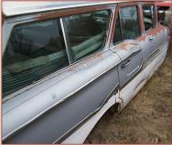 1958 Chevrolet Biscayne Brookwood 9 Passenger Station Wagon right rear view