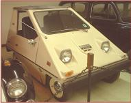 1975 Sebring-Vanguard Electric Citicar 2 door coupe right front view