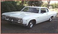 1966 Chevy Caprice 2 door hardtop left front view