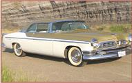 1955 Chrysler New Yorker Deluxe St. Regis 2 door hardtop right front view
