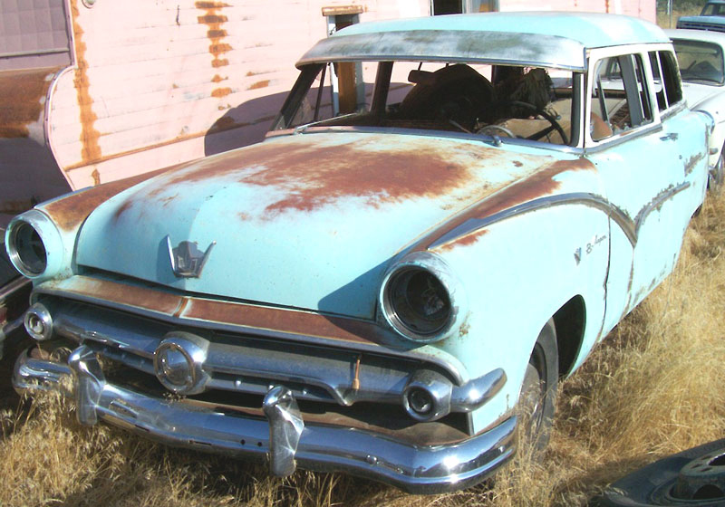 1954 ford customline 4 door station wagon for sale for 1954 ford customline 4 door