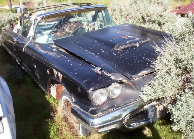 1960 Ford Thunderbird Quot J Quot Code V 8 Convertible For Sale