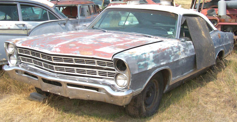1964 Ford Galaxie 500 Parts 1967 Ford Galaxie 500 2 Door Hardtop Fastback Z Code Coupe For Sale