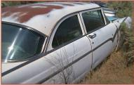 1955 Ford Fairlane 2 Door Club Sedan right rear view
