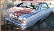 1966 Ford Fairlane GT 390/4 Speed Car Silver right rear view