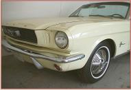 1966 Ford Mustang Convertible left front view