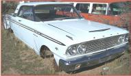 1963 Ford Fairlane 500 Sports Coupe 2 Door Hardtop 260 V-8 right front view