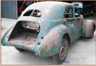 1941 Hupmobile R-155 Skylark 4 Door Sedan right rear view