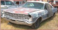 1967 Ford Galaxie 500 2 Door Hardtop Fastback Z Code Coupe left front view