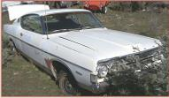 1968 Ford Fairlane 500 Fastback 2 Door Hardtop right front view
