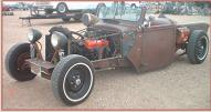 1941 Ford pickup old school rat rod left front view