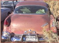 1954 Hudson Hornet Model D 4 Door Sedan rear view