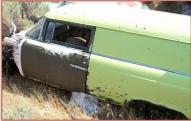 1955 Ford Courier Custom 1/2 ton sedan delivery left side view