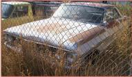 1964 Ford Galaxie 500 2 Door Hardtop left front view