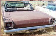 1966 Ford Galaxie 500 Convertible left rear view