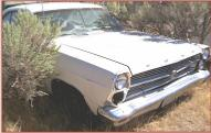 1966 Ford Fairlane 500XL V-8 2 Door Hardtop right front view