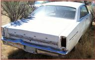 1966 Ford Fairlane 500XL V-8 2 Door Hardtop right rear view