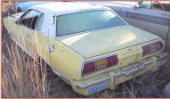 1975 Ford Mustang II 2 Door Coupe V-6 4 Speed left rear view