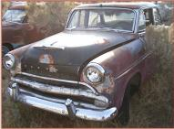1954 Hudson Jet 4 Door Sedan left front view