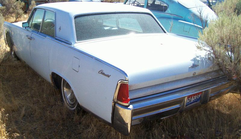 1964 lincoln continental 4 door sedan blue for sale. Black Bedroom Furniture Sets. Home Design Ideas