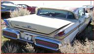 1957 Mercury Turnpike Cruiser 4 Door Hardtop right rear view