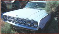 1964 Mercury Park Lane Marauder 4 Door Hardtop left front view